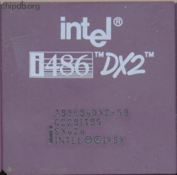 Intel A80486DX2-50 SX626
