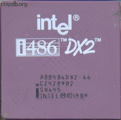 Intel A80486DX2-66 SX645