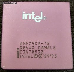 Intel 486 DX4-75 A8P24CA-75 Q0463 SAMPLE