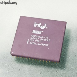 Intel 486 DX4-75 A8P24CA75 Q0457 ES no date code