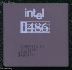 Intel A80486DX SXE61 ES