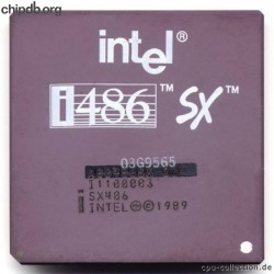 Intel A80486SX-20 SX406 remarked IBM FRU?