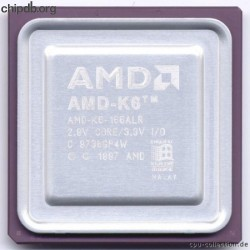 AMD AMD-K6-166ALR Bold engraved text