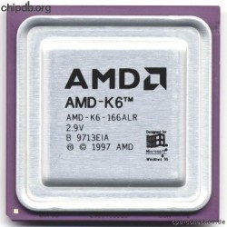AMD AMD-K6-166ALR 2.9V No core text