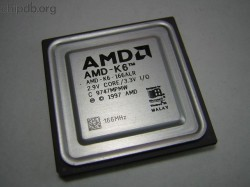 AMD AMD-K6-166ALR engraved speed