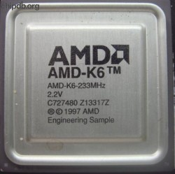 AMD AMD-K6-233 Engineering Sample