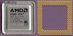 AMD AMD-K6-233ANR rev B