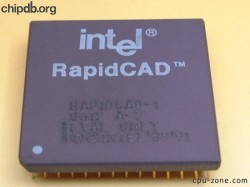 Intel RAPIDCAD-1 Q612 EVAL ONLY