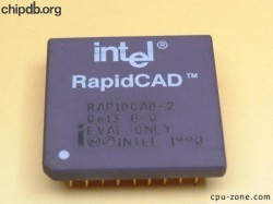 Intel RAPIDCAD-2 Q613 EVAL ONLY