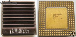 Intel i860 A80860XR-40 SX172