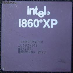 Intel i860 A80860XP40 SX652