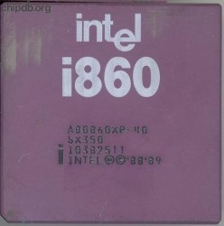 Intel i860 A80860XR-40 SX350