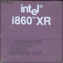 Intel i860 A80860XR-40 SX438