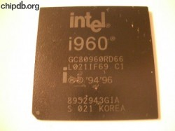Intel i960 GC80960RD66 KOREA