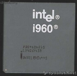 Intel i960 A80960HT75 black print