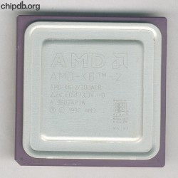 AMD AMD-K6-2/300AFR rev A K in corner