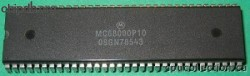 Motorola MC68000P10 two rows
