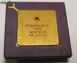 Motorola MC68000RC10 four rows