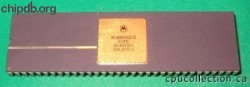 Motorola MC68000L12 four rows