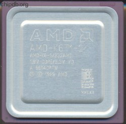 AMD AMD-K6-2/333AMZ K in corner