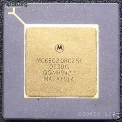 Motorola MC68020RC25E four rows