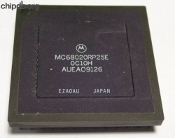 Motorola MC68020RP25E three rows