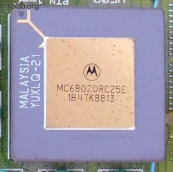 Motorola MC68020RC25E two rows