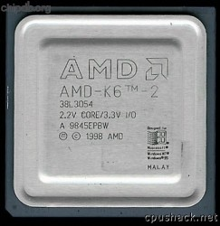 AMD AMD-K6-2 38L3054 (337 MHz) IBM FRU number