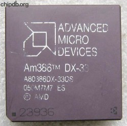 AMD A80386DX-33QS ES