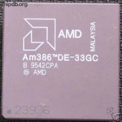 AMD Am386 DE-33GC diff print
