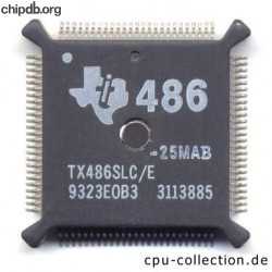 Texas Instruments TX486SLC-E-25MAB
