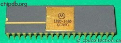 Motorola MC6800L 1820-1480 HP part number