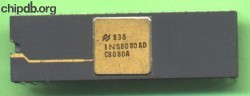 National Semiconductor INS8080AD C8080A diff groudstrap