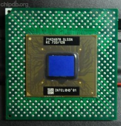 Intel Celeron KC 733/128 SL5SN on PGA