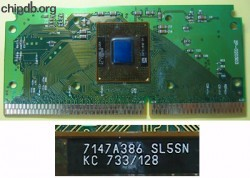 Intel Celeron KC 733/128 SL5SN on slot1 board