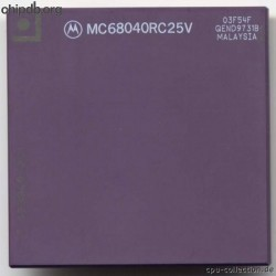 Motorola MC68040RC25V