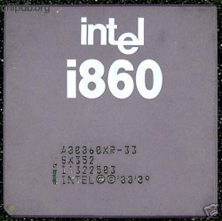 Intel i860 A80860XR-33 SX352