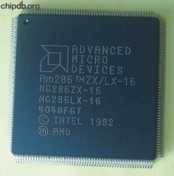 AMD Am286 ZX/LX-16 engraved