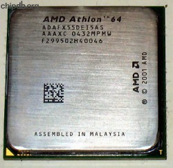 AMD Athlon 64 FX-55 ADAFX55DEI5AS AAAXC