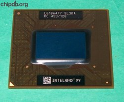 Intel Celeron Mobile KC 433/128 SL3KA