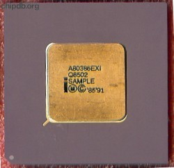 Intel A80386EXI Q8502 SAMPLE ES