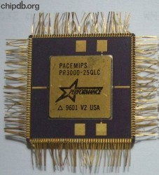 Performance Semiconductor PACEMIPS PR3000-25QLC